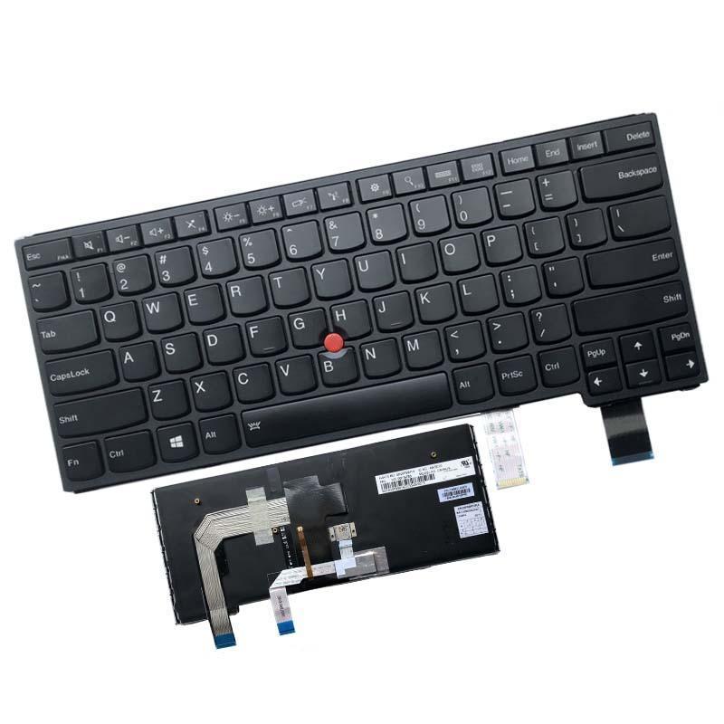 Laptop Yedek Klavyeler Dizüstü Klavye Lenovo Yoga 460 14 S3 P40 Için Uygundur. Arka Işık Ile Ultrabook İngilizce Anahtarları