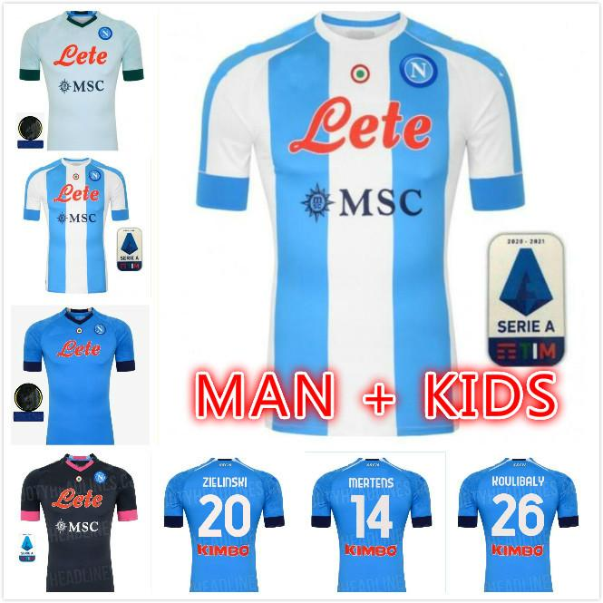 2020 Maradona Argentina-inspirada en Napoli Jerseys de fútbol especial Home 10 Retro Galería Estilo Cuarto 4to Jersey Camisetas de fútbol