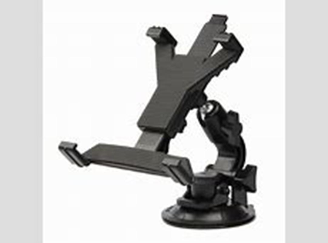 7, 8, 10 inches aluminium alloy made suction cup mobile phone GPS navigator adjustable tablet PC stands for cars