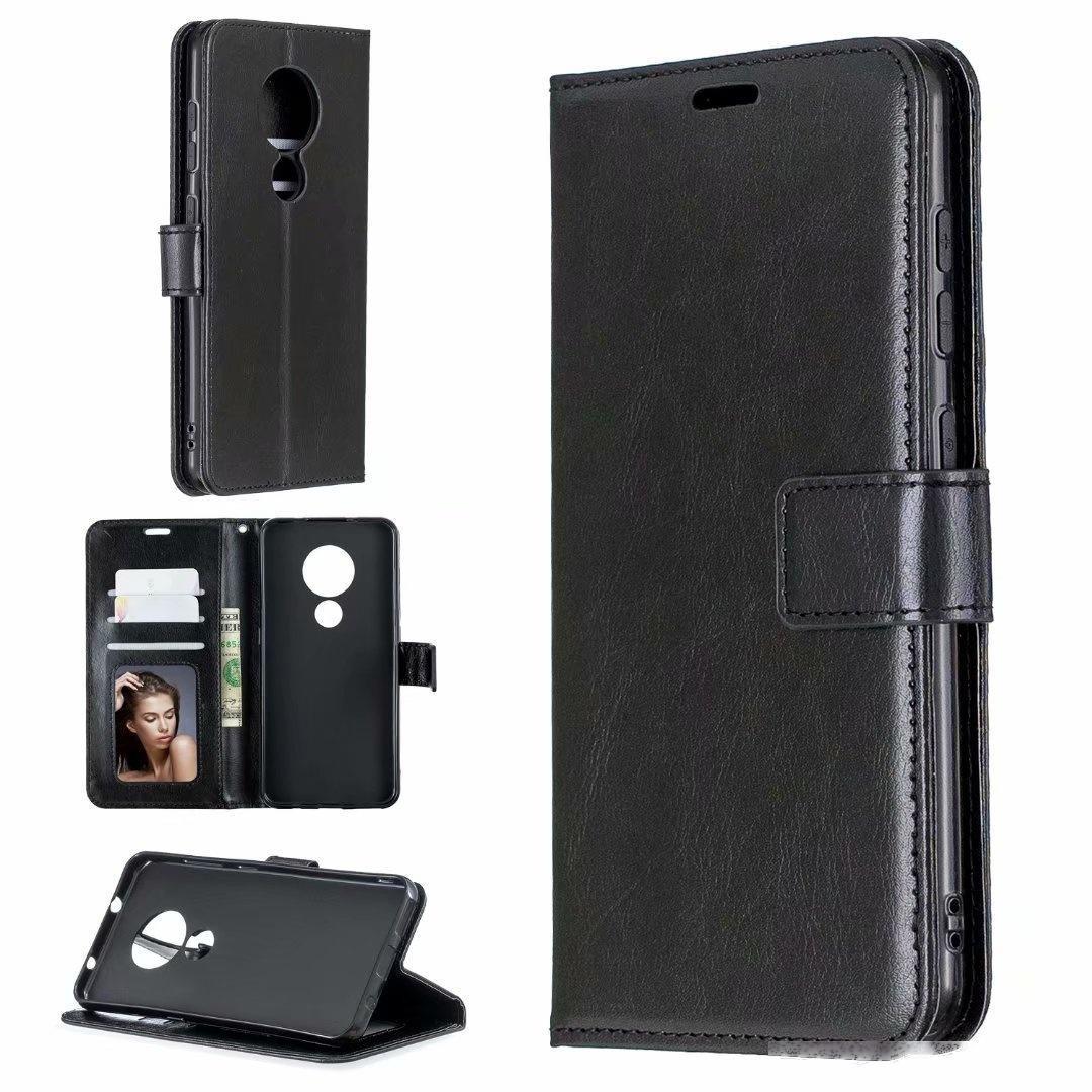телефон Сумасшедшая лошадь бумажник кожаный чехол для Nokia 5,3 2,2 6,2 2,3 3,2 4,2 3,1 плюс