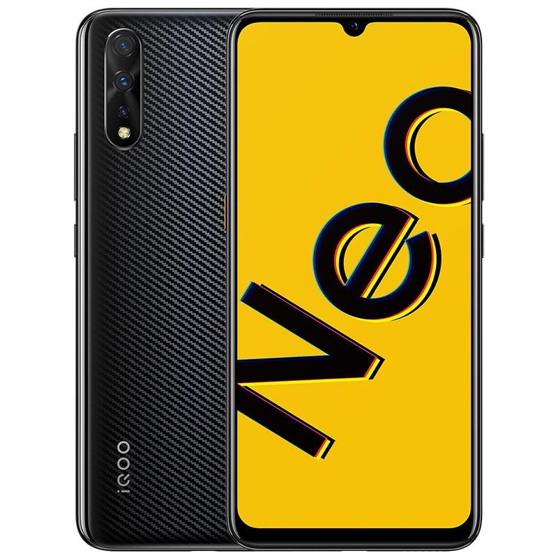 """Оригинальный Vivo IQOO NEO 855 4G LTE Сотовый телефон 8 ГБ RAM 128GB ROM Snapdragon 855 OCTA CORE Android 6,38 """"Полноэкранный экран 16mp Личный мобильный телефон"""