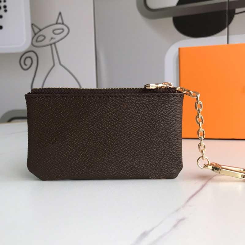 M62650 Key Sac Designer Fashion Mode Men Type Terrasse Carte de crédit Porte-monnaie Porte-monnaie Mini Portefeuille Sac de portefeuille de haute qualité