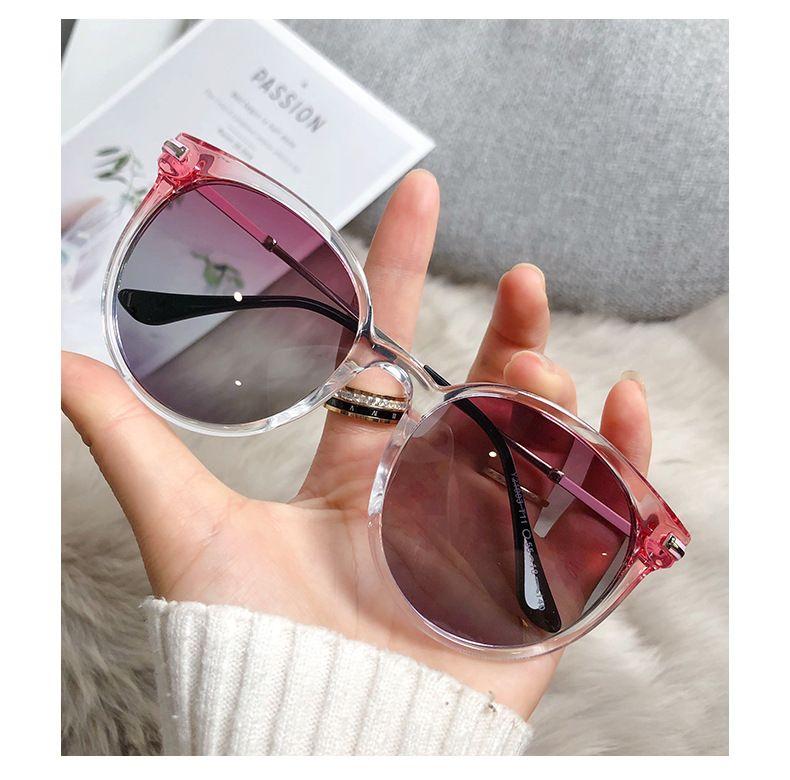 أزياء المرأة النظارات الشمسية جولة نموذج مصمم عدسات نظارات الشمس بالجملة الحرة حقيبة جلدية أصلية، قماش، مربع، الملحقات.