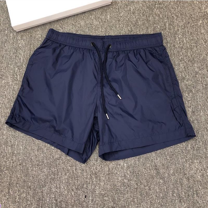 Hommes Nylon Swim shorts Mode Designer Gentleman Poches Side Poches Beach Boy Boy Fermeture Fermeture arrière Pochette Tonal Cordon Cordon court