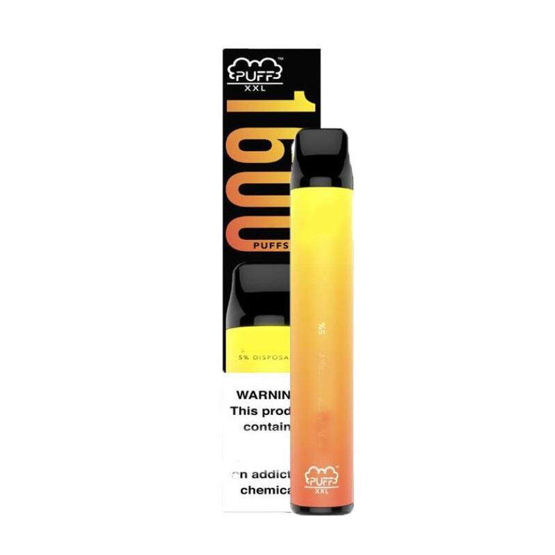 1600+ Puff XXL Puff 10 Farben Vape Bar-System-Stick All in einem vordeutigen Vape-Stift-Puff-Puff-Einweg-Ecigs Puff Plus CIPXA
