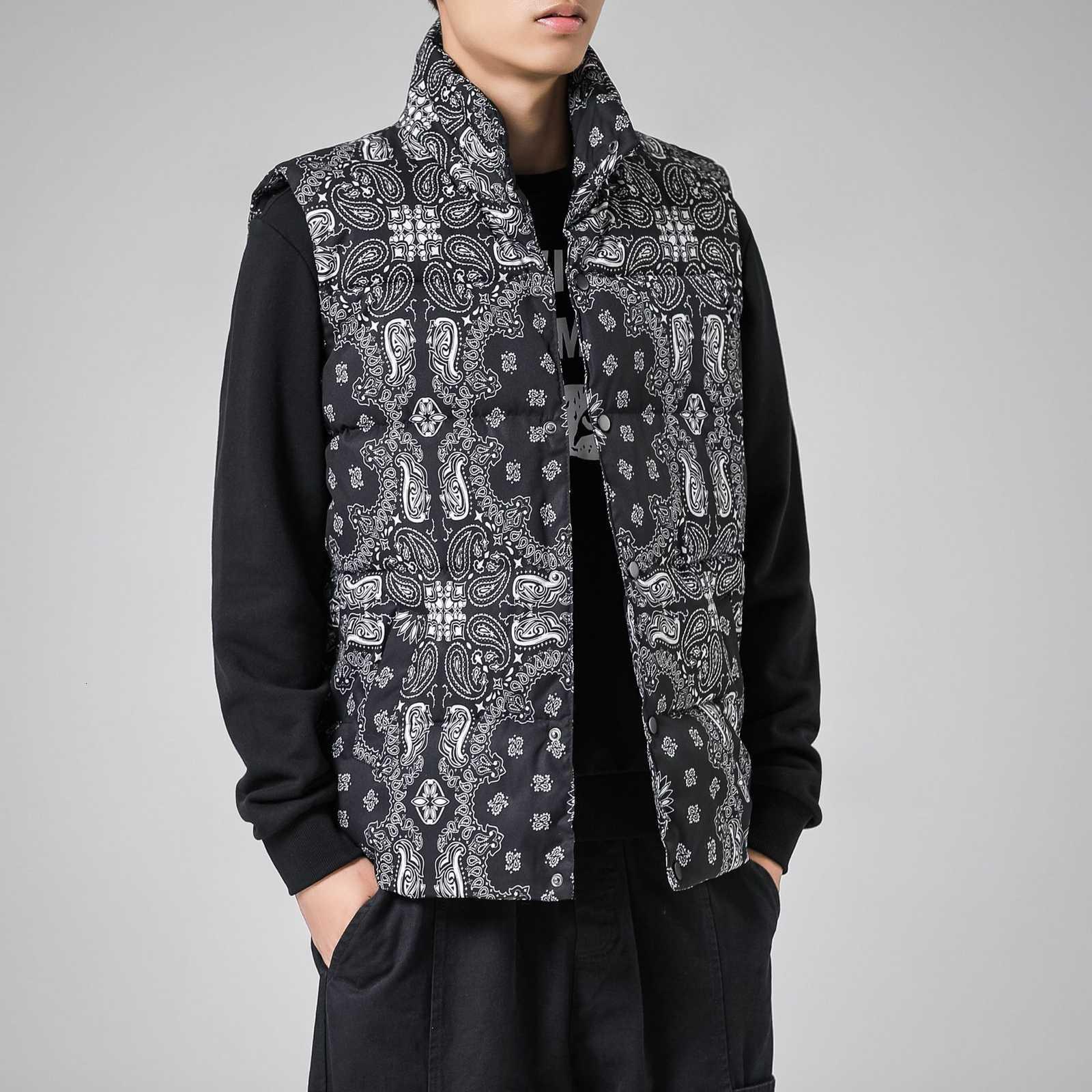 Manteau de fleur de noix de cajou d'homme et d'hiver