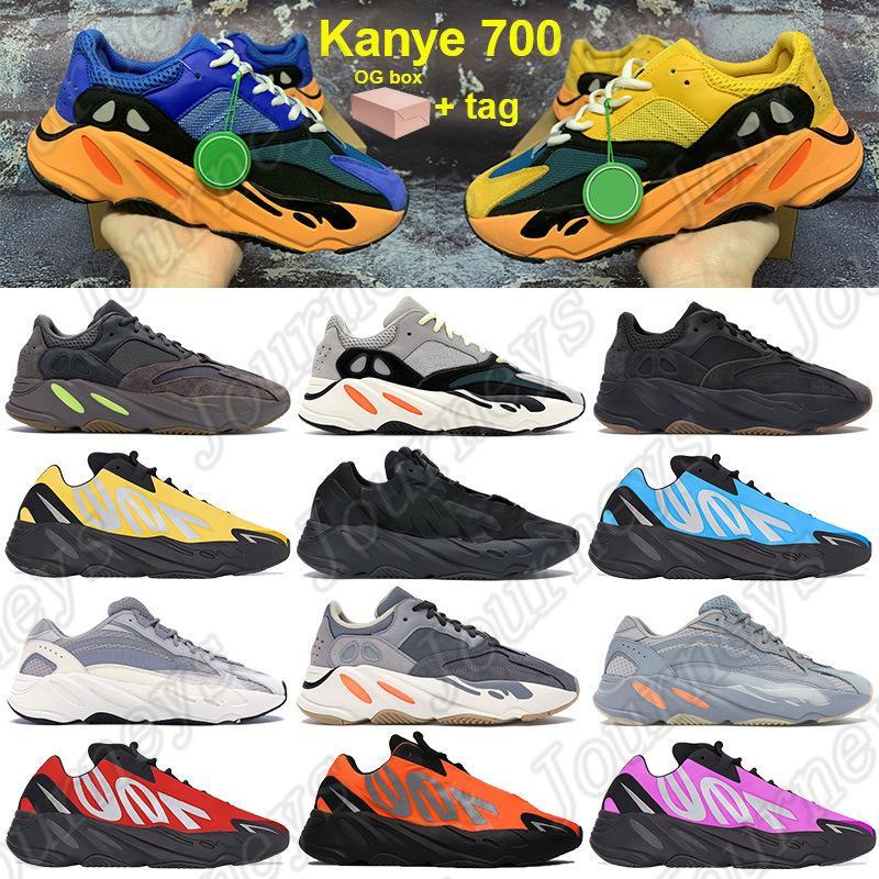 Box 700 Kanye الاحذية أحذية مشرق الأزرق الشمس الرجال النساء أحذية رياضية og الصلبة رمادي mauave الثلاثي الأسود كتابات الأزرق الوردي الأصفر المدربين