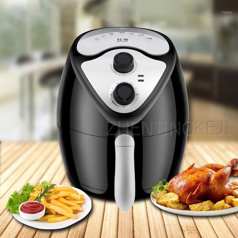 Home Air Fryer sem fumaça de petróleo Nonstick Pan Francês Fritados Máquina Multicooker Fryer Fryer AirFryer para Kitchen1