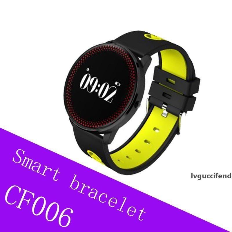 Smart-Band CF006-Blutdruckmessgerät Herzfrequenz Smart Armband Druck Herzfrequenzmesser Fitness Armband Smart Armband