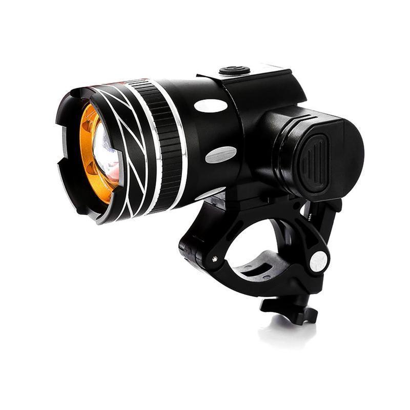 أضواء دراجة قابلة للشحن دراجة مصباح 1500 شمعة الصمام mtb فائقة مشرق ضوء الأمامي الأمامي مع USB سهلة التركيب للطفل الرجال