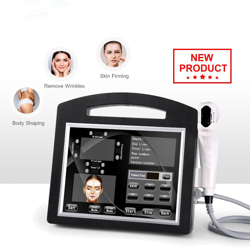 Professional 3D 4D Hifu Machine 20000 Shots Высокая интенсивность Сосредоточенная Ультразвуковая HIFU Лифт Лифт Анти-морщин для лица Груди и Тело для похудения