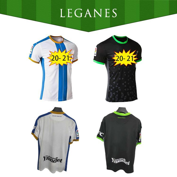 New20 21 Leganessca Home Away Juego 3 Camiseta de fútbol 2020 2021 Maillotts ó Scar J. Silva R.