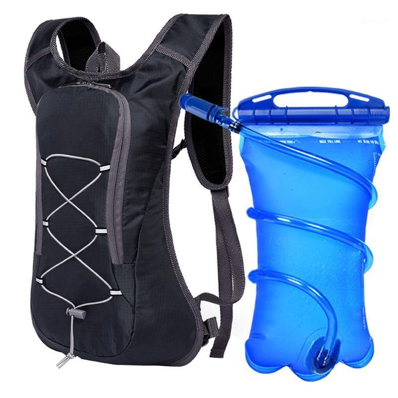 Дышащий сверхлегкий велосипедный рюкзак для велосипеда, велосипедный велосипедный марафон портативный гидратационный пакет сумка опция 3L Water1