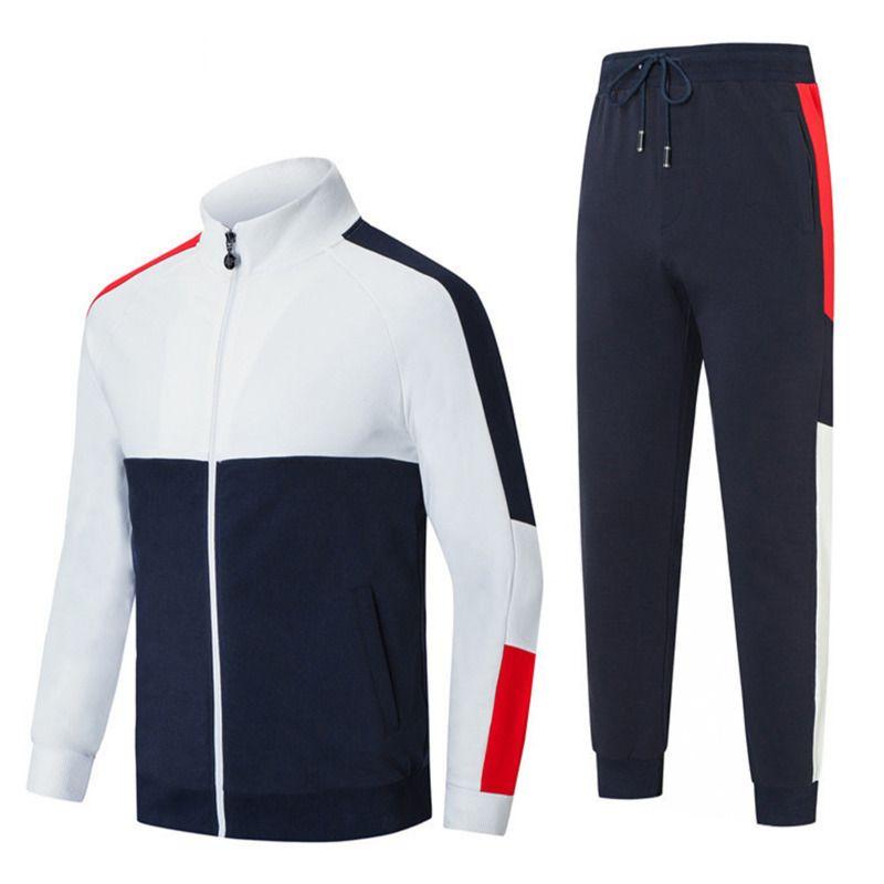 Erkek Kazak Takım Elbise Eşofman Sweatsuit Spor Suit Kadınlar Koşu Ceket Kazak Seti ve Pantolon Hoodie Spor Giysiler