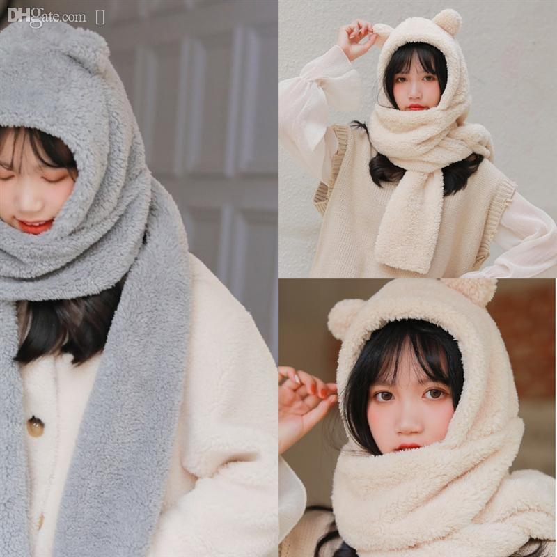 Шерсть маленький медведь осень пашмина качества хорошие продажи милый теплый зимний шарф длинный бренд пашмина шарф шарфы шеи обертывают шарф густые длинные та