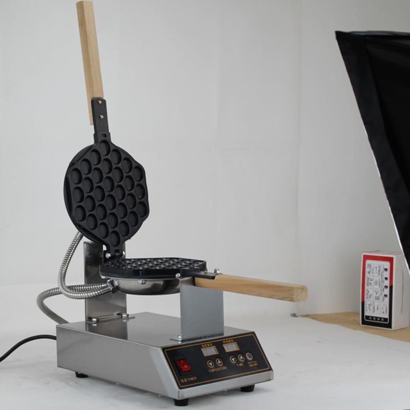 Хлебные производители Электрический яичный пузырь Waffle Maker Machine Macher / пузырь