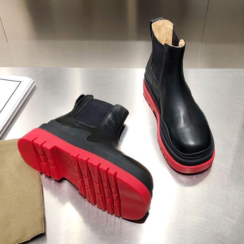 2021 Верец лодыжки Женщины Botega Martin Boot Cowskin Кожаные Сапоги Зеленые Нижние Винтажные Кроссовки Роскошные Дизайнеры Обувь