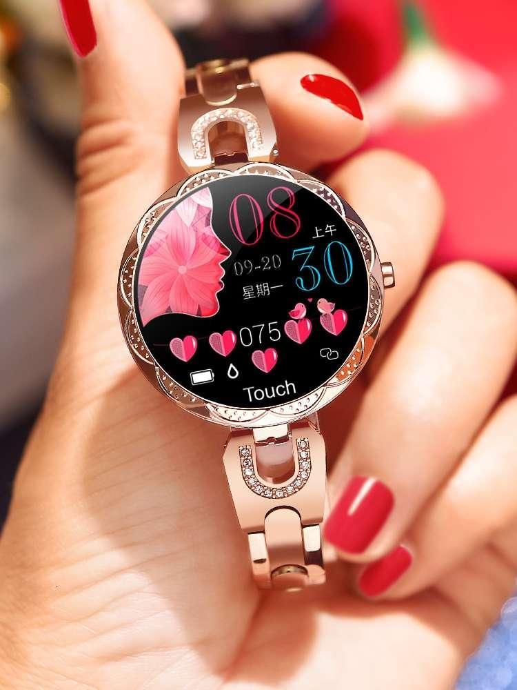Smart Watch Mode Multifonctionnel Huawei Universal Cœur de cardiaque et Sang Tarif Matériel Step Bijoux Bracelet Femme