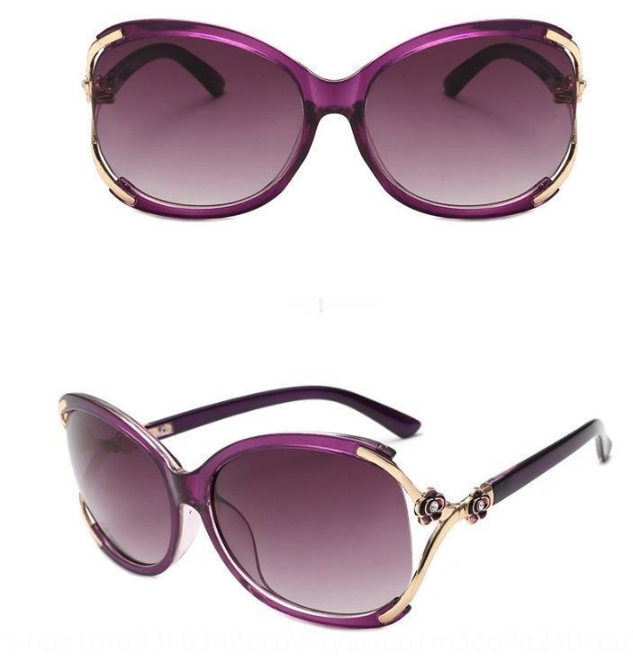 5Y49 2020 Übergroße Frames Sonnenbrille Frauen Männer Neue Quadratische Brille UV400 Gradient Vintage Neue Designer Brillen Ankunft Randlose Glas UV40