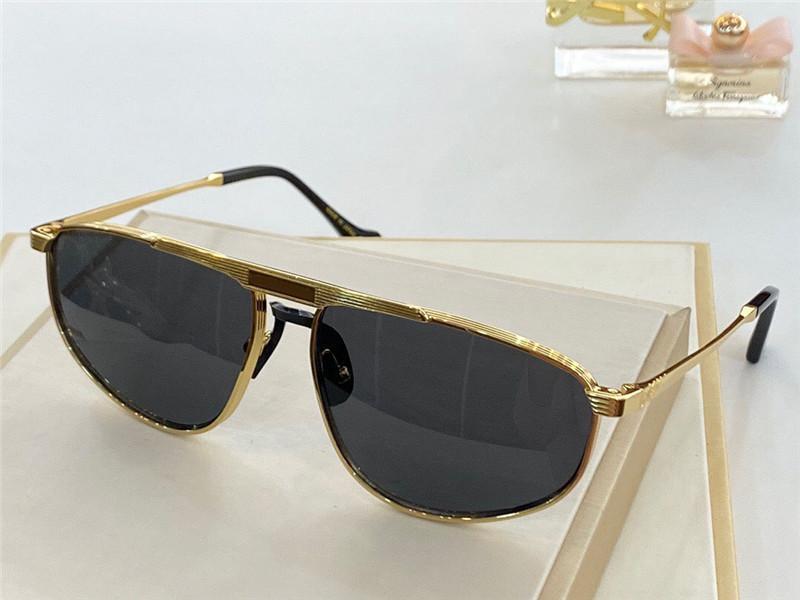 Yeni Moda Tasarım Güneş Gözlüğü 0841 Küçük Kare Metal Çerçeve Popüler ve Cömert Stil UV400 Koruyucu Gözlük En Kaliteli