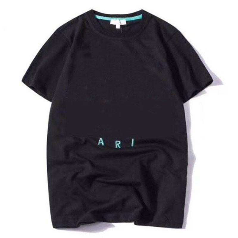 2020 NOUVEAU MENS MENS DESIGNER T-shirts Homme imprimé Homme T-shirt de qualité supérieure Coton Coton Tees à manches courtes Luxe T-shirts Taille S-XXL