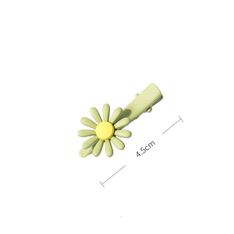 Preço de fábrica macaron 2 pcs coreano / set cor bonito doce margarida flor flor de cabelo pulseira bangs acessórios clipes clipes de cabelo