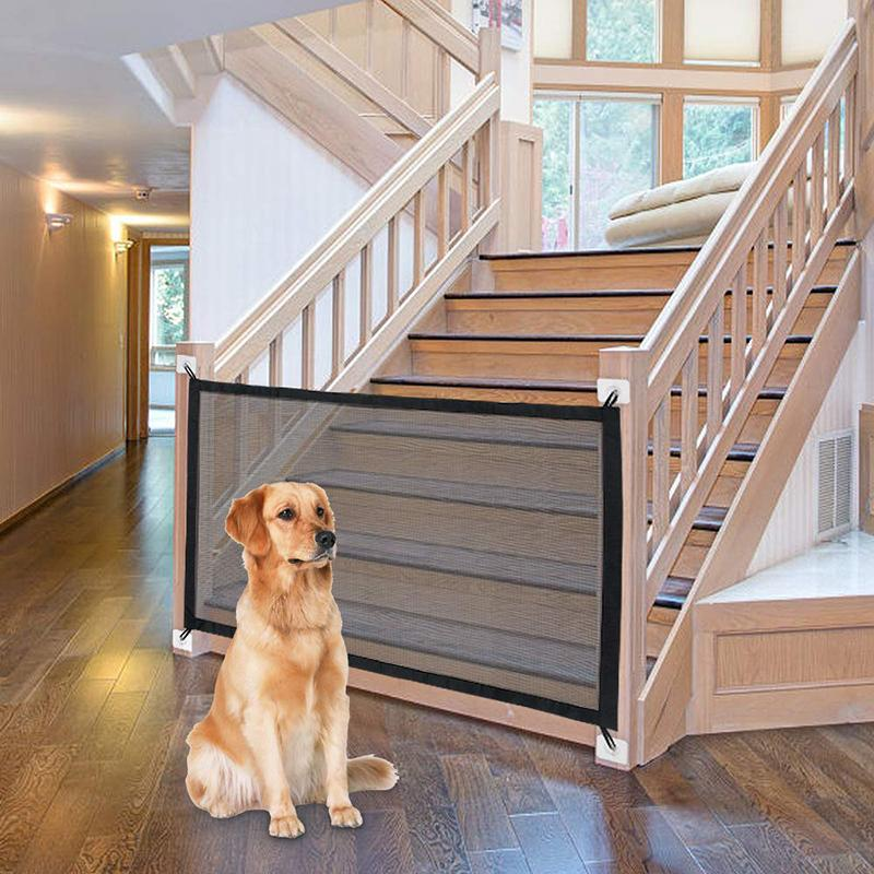 Maglia ingegnosa per interni all'aperto casa cassaforte gate gate recinzione recinzione cabina di sicurezza forniture per animali domestici dropshipping
