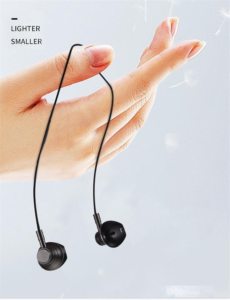 Auricolare sportivo di alta qualità BESSIN M20, High Fidelity Auricolare per riduzione del rumore Stereo con microfono, adatto per il miglio Headse per iPhone