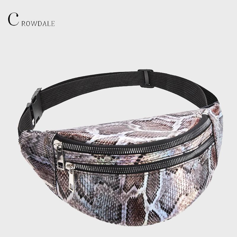 Crownale cintura bolsa bolso bolso cinturón cofre moda serpentina fanny damas mujeres viajes mujeres diseñador paquete cinturón nuevo para mujeres lvqbn