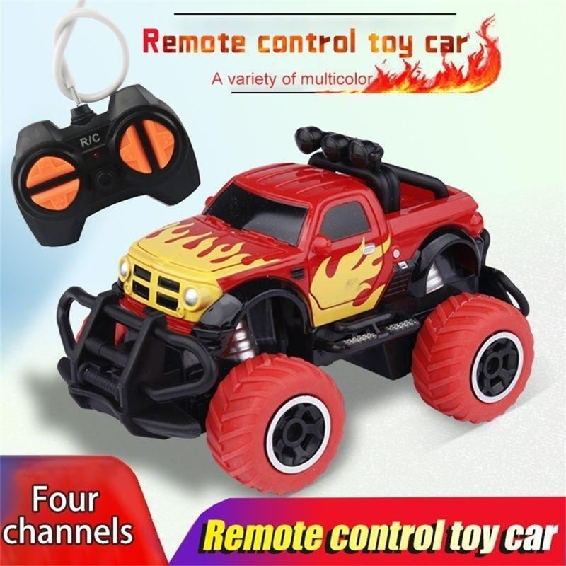RC Auto Spielzeug für Kinder 4 Kanal Drift Geschwindigkeit Funksteuerung Fernbedienung Mini Offroad Fahrzeug Trucks Jungen Geschenk Kinder Spielzeug 201223