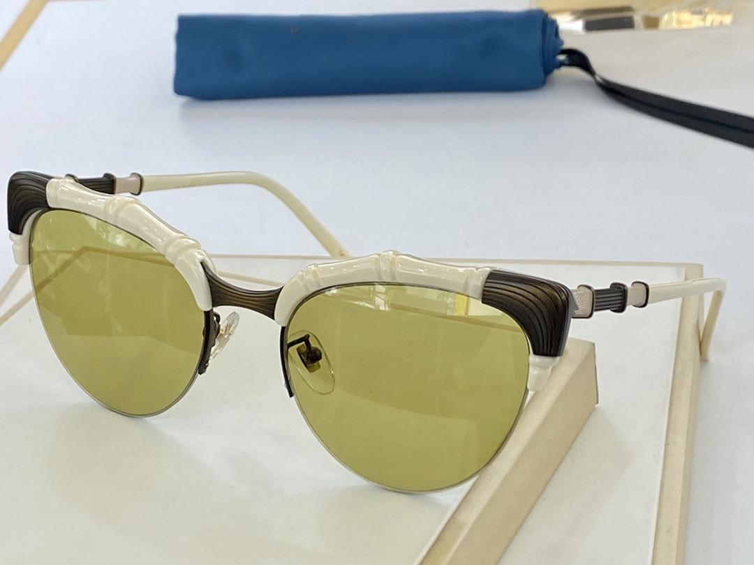"""2021 النظارات الشمسية الخيزران النظافة ذات العصرية الجديدة مع مزاج عصري 0661 نظارة شمسية متطابقة للرجال والنساء حجم 56 """"20"""