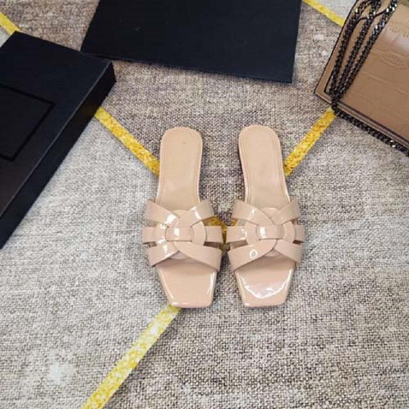Moda para mujer Sandalias Slippers Bohemian Pisos Flip Flops Zapatos Sandalias de playa de verano 07 100 01