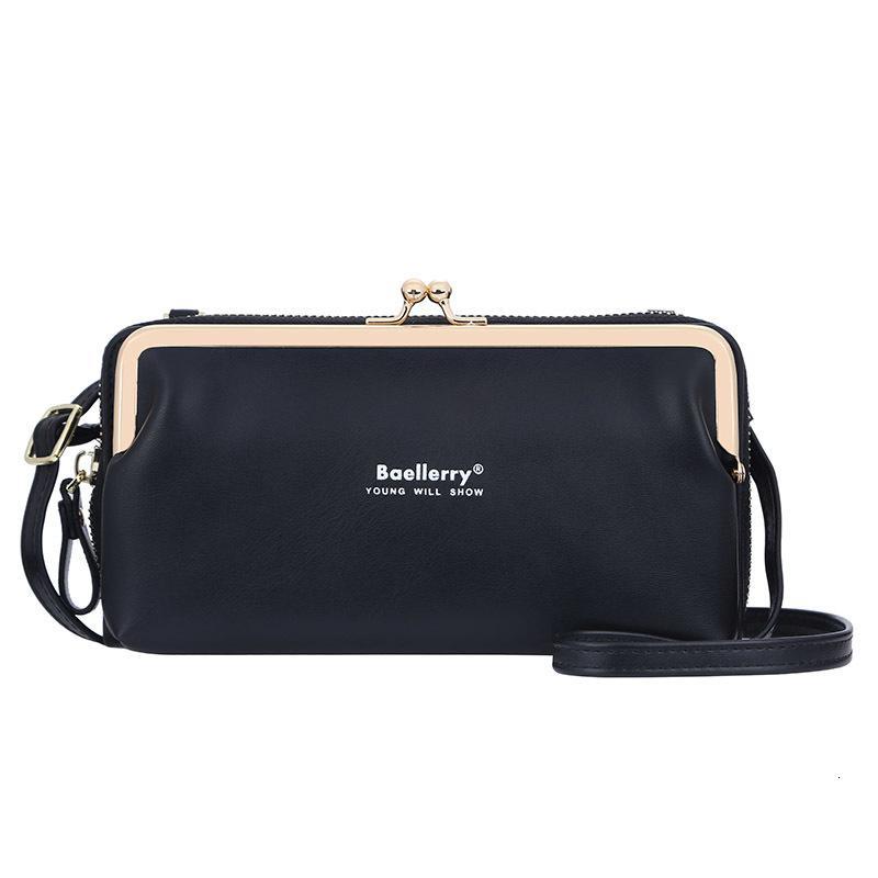 Koreanische Modefrauen lange Brieftasche Multifunktionale große Kapazität Crossbody Handytasche Hohe Qualität PU Heißer Verkauf