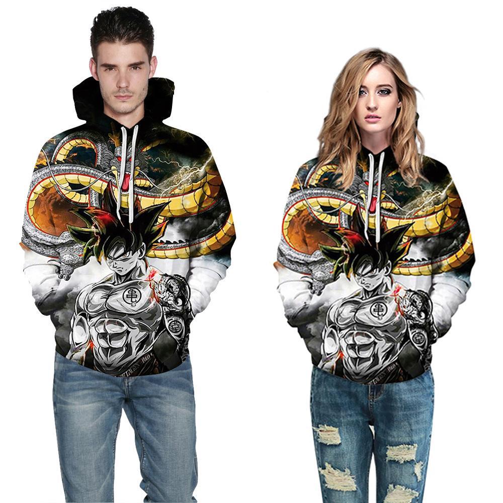 5cour s-5xl 2021 새로운 애니메이션 3D 디지털 인쇄 커플 복장 후드 느슨한 스웨터 애니메이션 r 캐주얼 후드 재킷 셔츠 톱 42630914523560