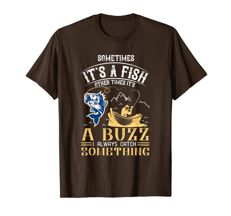 Pesca - A volte è un pesce un pesce altre volte una t-shirt buzz