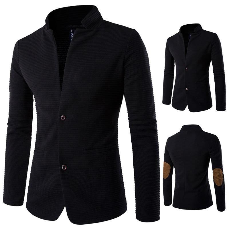 Jacken Herren Splicing Coat Bomber Slim Jacke Männer Oberbekleidung Windjacke Dünne langärmlige Mäntel Streetwear Stehkragen Kleidung
