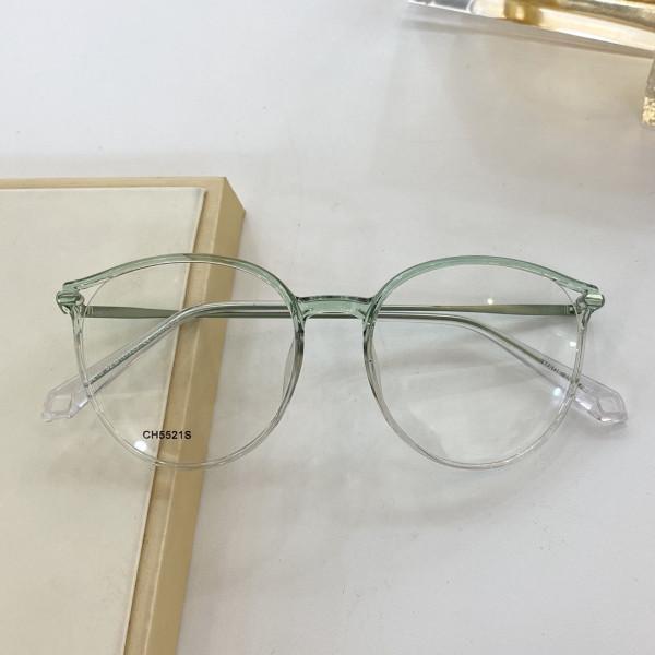 CH5521S جودة عالية جديد أزياء النظارات إطار قصير النظر الإطار العين الرجعية إطار كبير يمكن قياس وصفة عدسة حجم 52-17-135 سنتيمتر