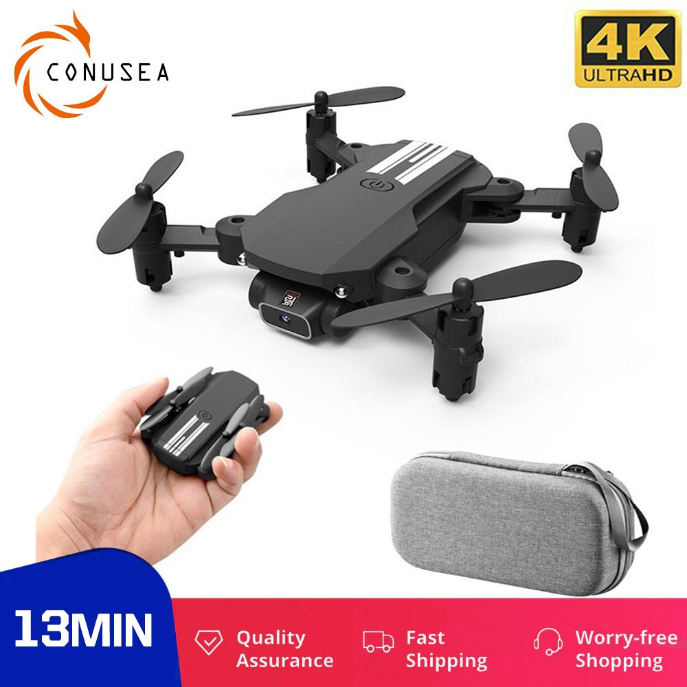 Conusea Mini Drohne 4k Kamera Falten RC Quadcopter Geste Foto RC Hubschrauber Gravity Induktion Pocket Dron Für Kind Indoor Y1128