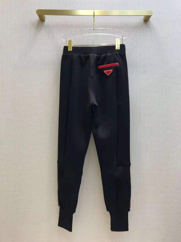 Трек брюки Joggers Женские спортивные Thouse стиль моды с письмами спиц брюки тонкий для леди одежда UMXB