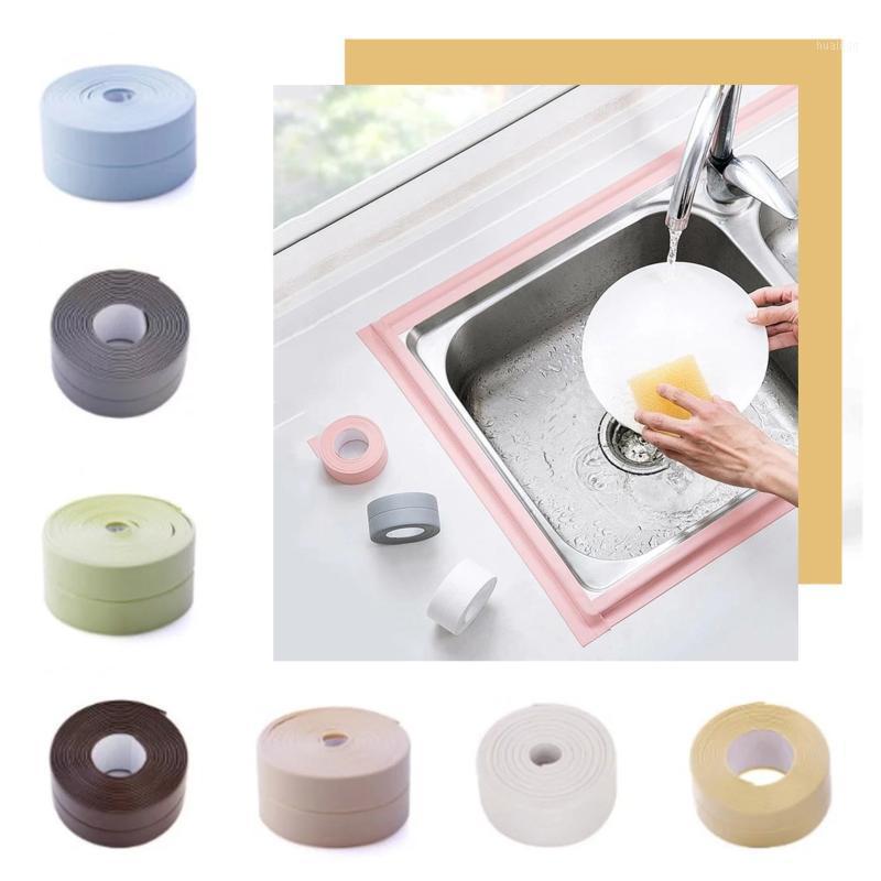 Waterproof sealing strip Kitchen Waterproof Strip Kitchen And Bathroom Sink Anti-mold Moisture-proof Hot Sale1