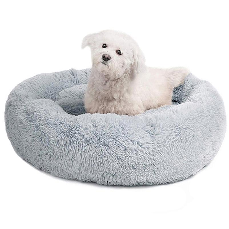 Cama de perro redondo Camas para mascotas Larga Little Medium Mascotas grandes Puppys Mat Kennel Sofá para perros Canasta de gatos Barco en 24 horas 201223