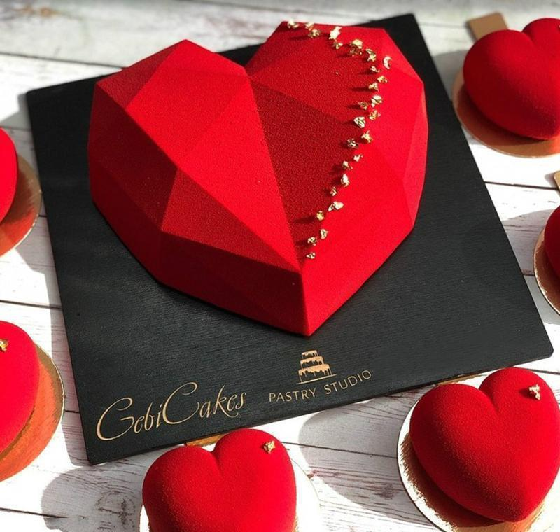 Cake Decorating Mold 3d Sile Molds Baking Dish Tools For Heart Round Cakes Chocolate Brownie Mousse jllqxE yeah2010