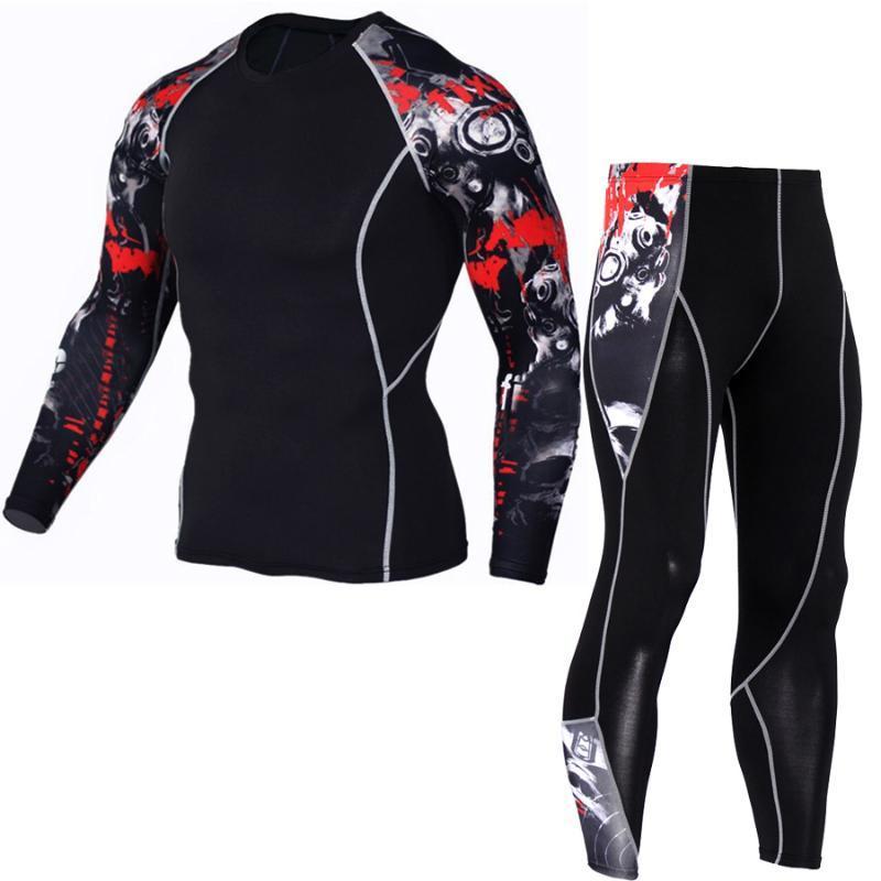 2021 uomini a compressione pantaloni runing camicie camicie da basket maglie di pallacanestro sopravvissuto per football calcio da calcio pantaloni collant magro leggings