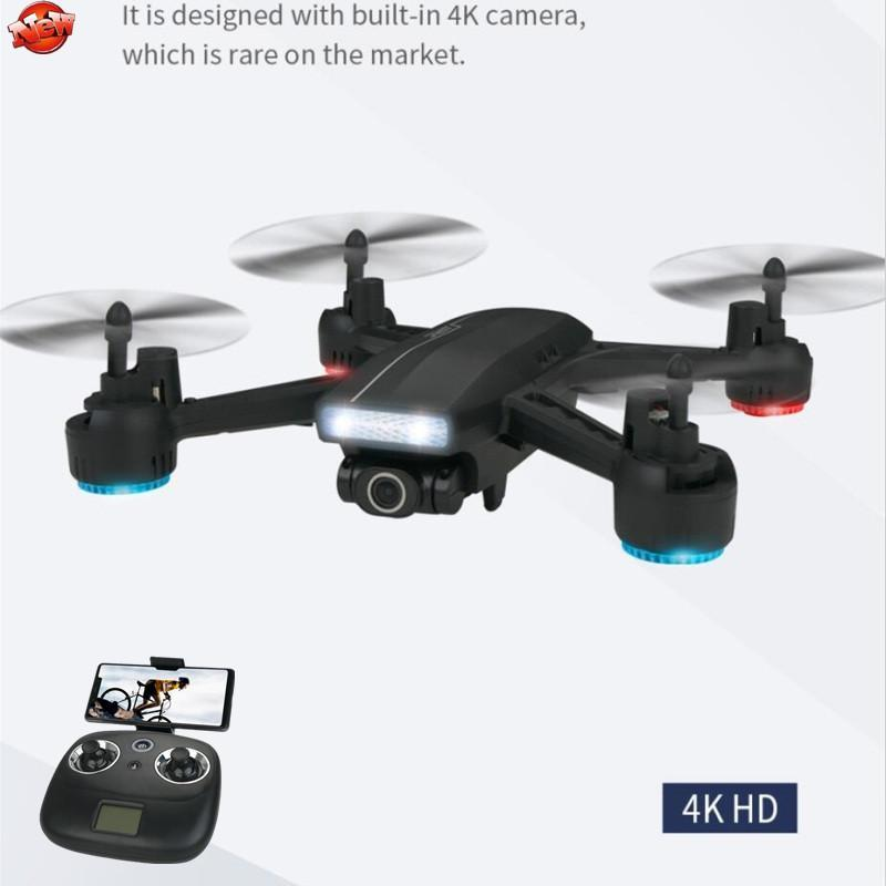 Professionale 4K HD Aerial WiFi FPV RC Quadcopter Long Range Drone 120 gradi APP Wide Angle Control Templess Modalità RC Drone Toy