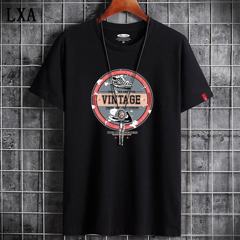 T-shirt da uomo in cotone nuovo di marca di trasporto libero T-shirt manica corta manica corta manica corta color uomo t shirt T-shirt per top maschili A-19