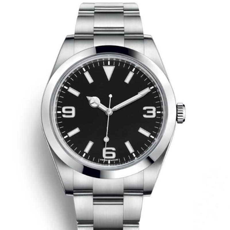 40 ملليمتر الرجال أزياء السيدات علامة سيدة المرأة الماس الميكانيكية الحركة التلقائي مصمم رجل ووتش تاريخ عارضة reloj الساعات ساعة اليد