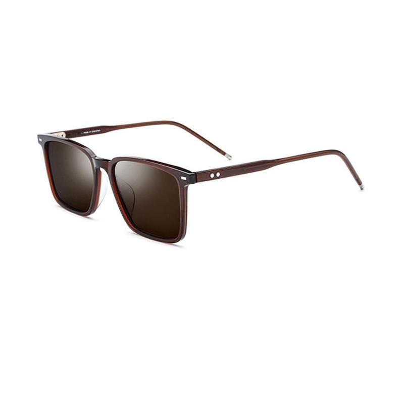 Black/Brown/Blue Polarized Women Sunglasses Rectangle UV400 Glasses For Women Come With Box