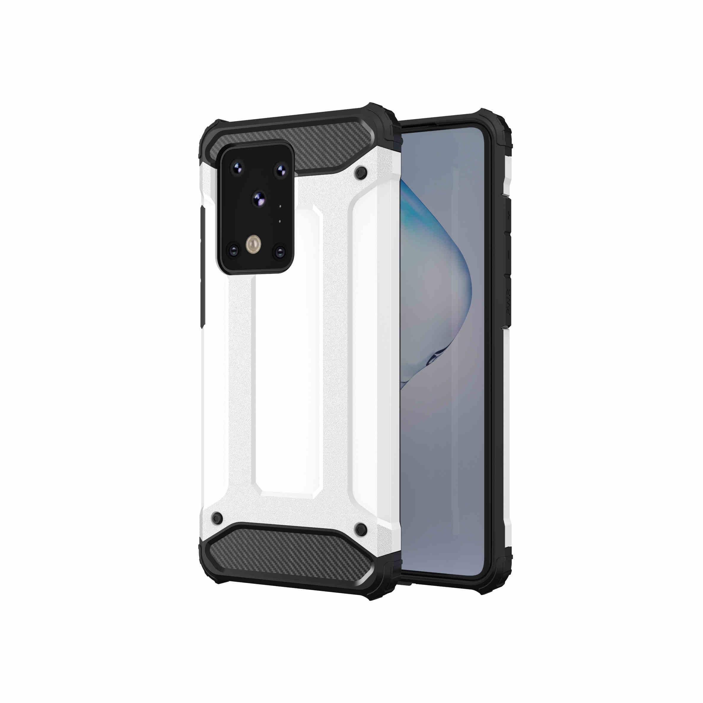 Capas telefônicas para iPhone 11 Pro XS Max XR Armadura de aço Samsung S20 Ultra A01 A20S Huawei P40 Capa protetora