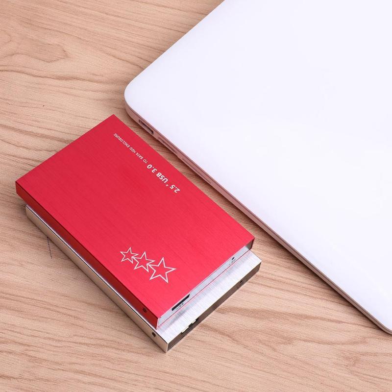 2.5 pollici USB3.0 HDD160GB / 320 GB / 1 TB / 2TB Hard Drive esterna portatile adatto per PC, Mac, Tablet PC, TV