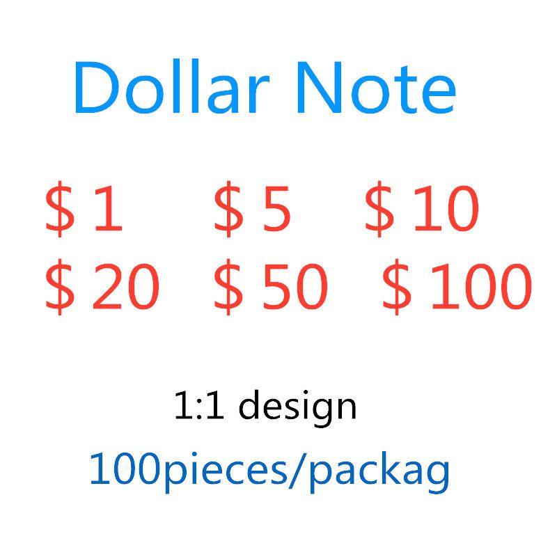 Dobrq brinquedos adereços atmosfera americanos adereços falsificados contas dólar dólares 5 bar falsificador simulação de filme US 99 moeda ocxhe